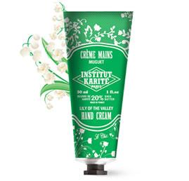 INSTITUT KARITE カリテ Shea Travel Series  20%Nourishing Hand Cream (ハンドクリーム)MUGUET ミュゲ